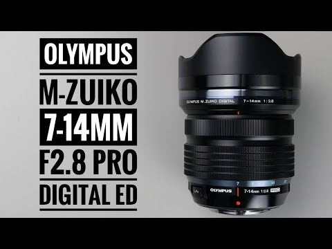 Olympus 7-14mm F/2.8 Pro M Zuiko Digital ED