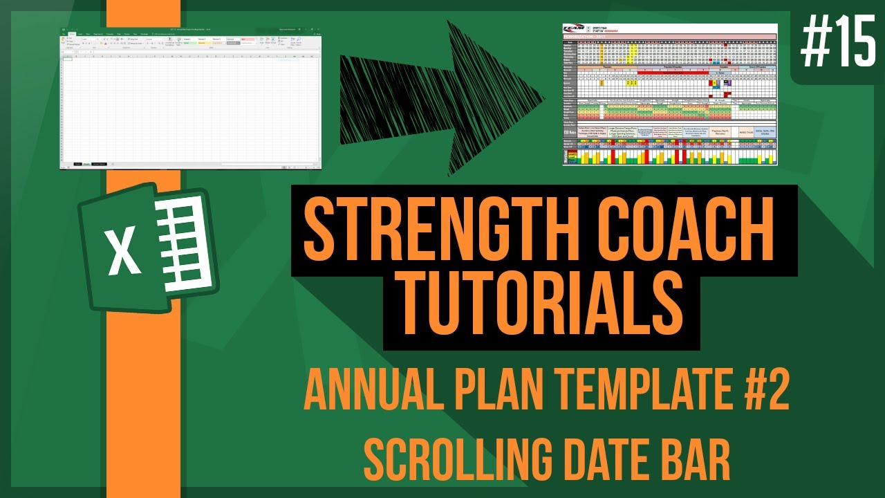 how to make a yearly training plan create an annual plan 2 youtube