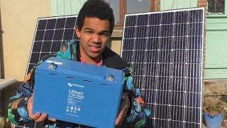 Chargeur solaire fait maison [ de puissance ˃ 300 W ] , pour ma grosse batterie lithium !