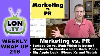 Weekly Wrapup 216: Why PR Is a Better Fit for Influencers vs. Marketing, Big Apple Leak, and More