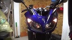 Yamaha Fazer FZS 1000 RN14 - Teil 30 | Seitenträger, Frontverkleidung, Blinker