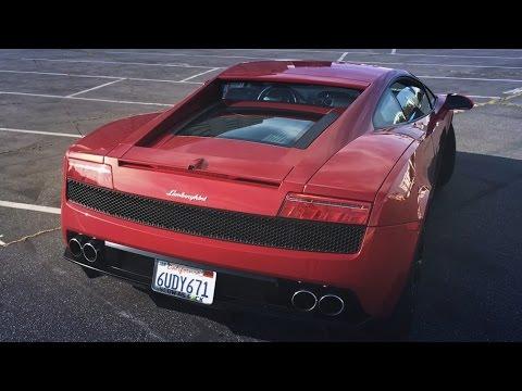 Сколько стоит Ламборгини 2009 года в США? Первый раз за рулем, тест-драйв Lamborghini Gallardo