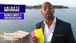 Complementaire kleuren in  bedrijfsvideo, pitch film of promotie film  - Business VideoCoach
