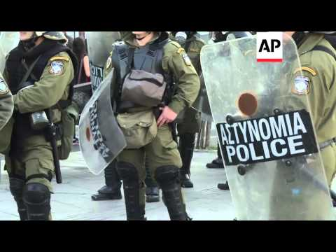 Greece - Protest on anniversary of teenager's death | Editor's Pick | 7 Dec 15