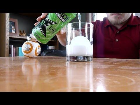 Rockstar Frozen Lime Freeze Energy Drink Review