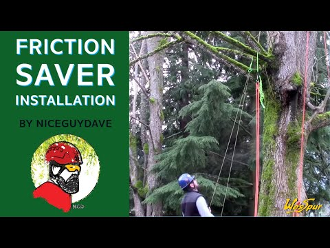 Friction Saver Installation - WesSpur Tree Equipment