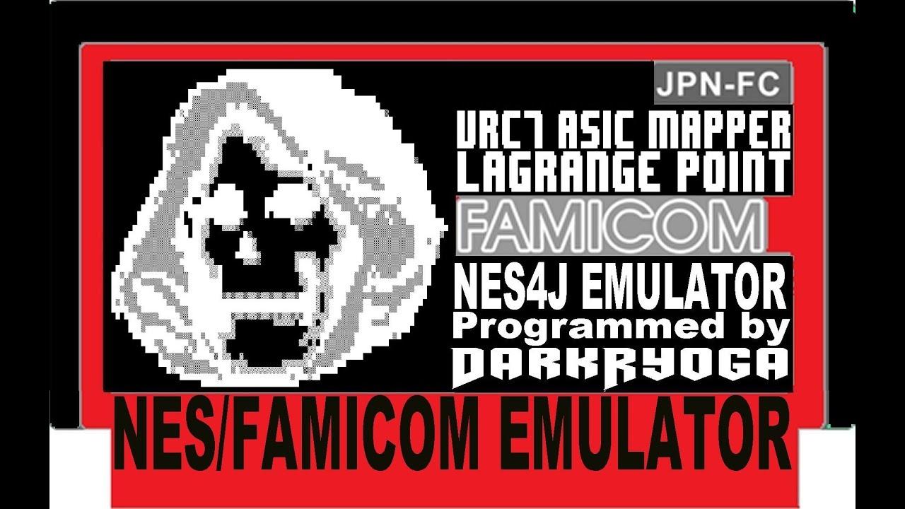 NES4J-v 0 89-M1: FAMICOM Emulator [JAVA] - LAGRANGE POINT - VRC7 ASIC  Mapper Support