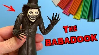 ЛЕПИМ БАБАДУКА - СТРАШИЛКИ ИЗ ПЛАСТИЛИНА | THE BABADOOK