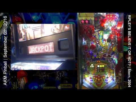 FROG FRENZY! RBION pinball machine session (from live stream)