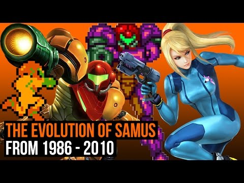 The Evolution of Samus from 1986 - 2010