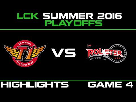 SKT vs KT Game 4 Highlights LCK Champions Summer Playoffs 2016 SK Telecom T1 vs KT Rolster   KT vs S