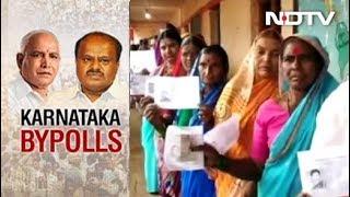 Congress-JDS Ahead In 4 Seats, BJP Has 1 In Karnataka By-Polls