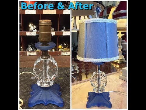 Lamp Repair New Milford | Chandelier Repair | Custom Lampshades | Antique Lighting Restoration