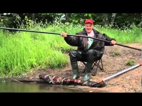 видео рыбалка на штекерную удочку видео