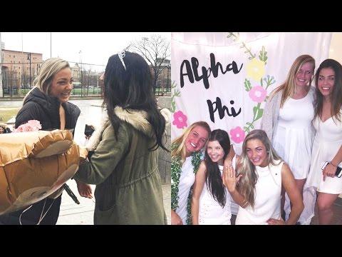 BIG LITTLE WEEK | ALPHA PHI BOSTON UNIVERSITY
