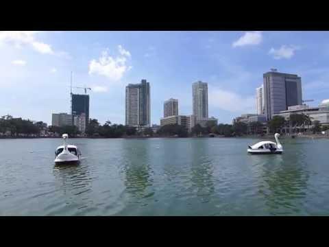 Beira Lake, Colombo, Sri Lanka