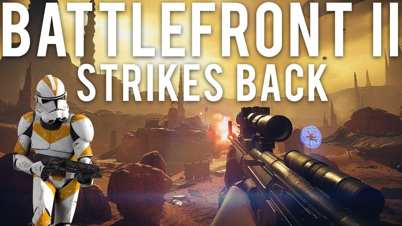Star Wars Battlefront 2 schlägt zurück + video