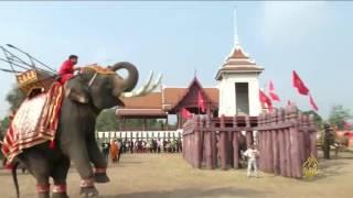 هذا الصباح-احتفالات يوم الفيل في تايلند