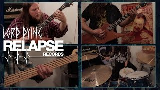 """LORD DYING – """"Offering Pain"""" Guitar, Bass & Drum Playthrough Video"""