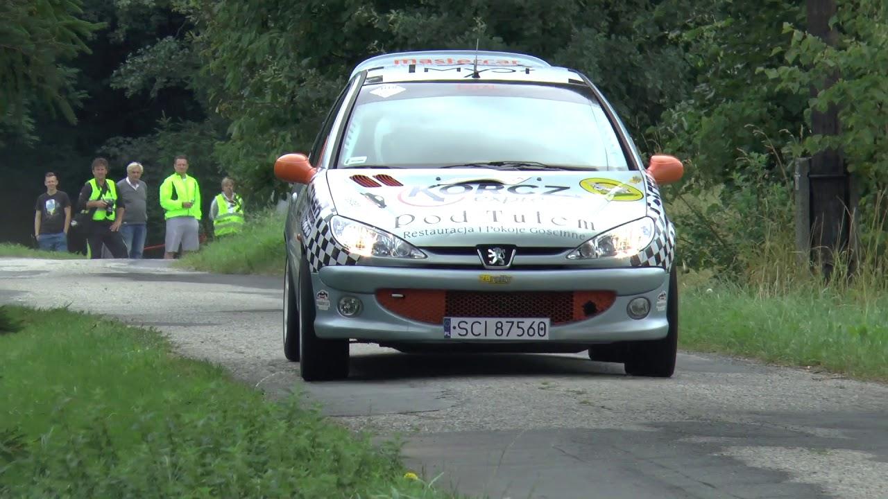 Super Sprint Lipowiec 2017 – Artur Podżorski / Klaudiusz Lechki – Peugeot 206