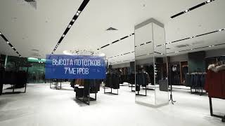 видео Ремонт и отделка торговых центров