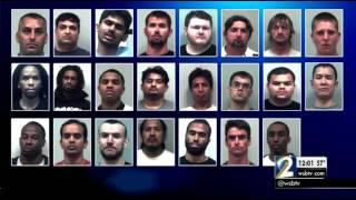 Police arrest nearly 2 dozen men in underage sex sting
