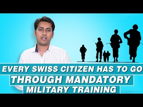 Why Does Every Swiss Citizen Has To Go Through Mandatory Military Training?