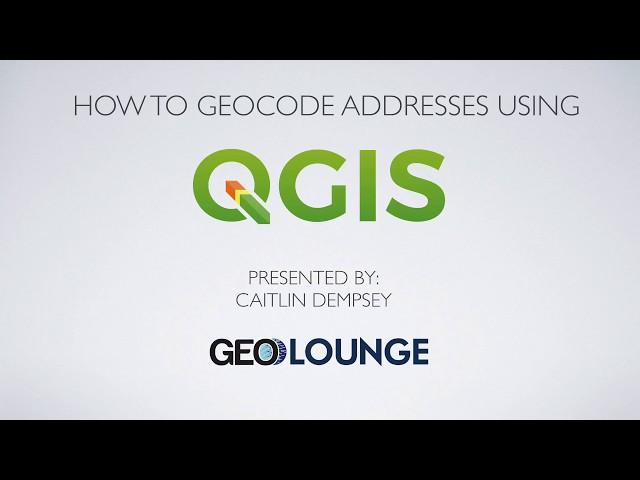 How to Geocode Addresses Using QGIS ~ GIS Lounge