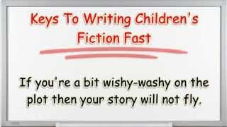 How To Write Children