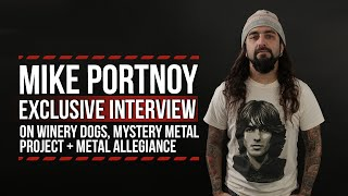 Mike Portnoy on Winery Dogs, Mystery Metal Project + More