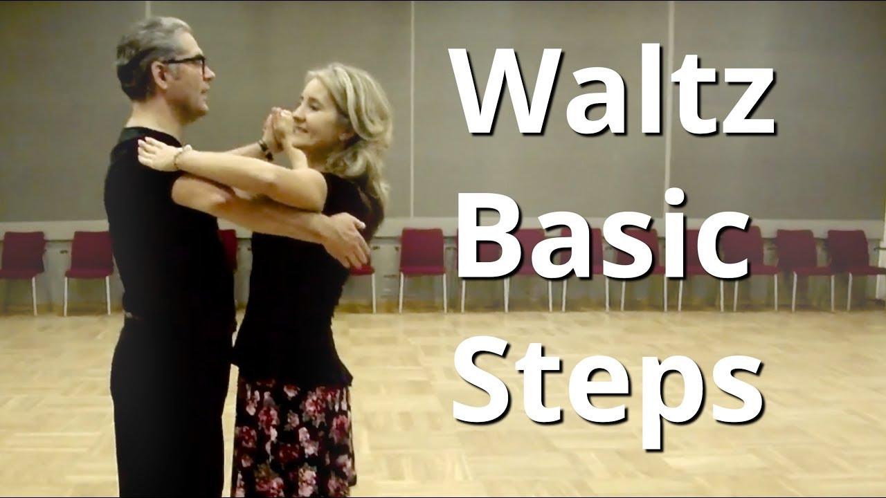 Waltz Basic Steps | Dance Lesson for Beginners  YouTube