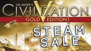 Steam Sale | Civ V Gold Edition