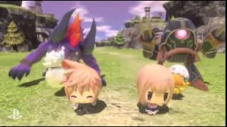Vídeo World of Final Fantasy
