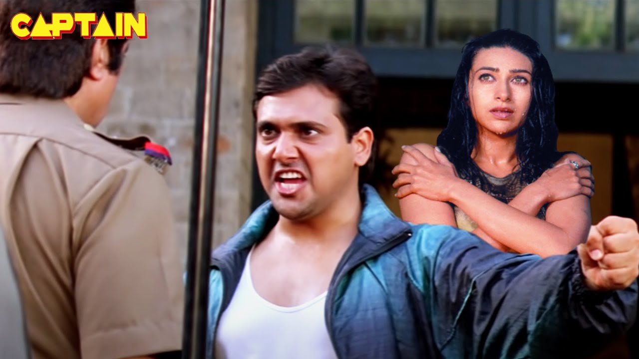 "गोविंदा, करिश्मा कपूर की हिंदी एक्शन फिल्म "" खुद्दार "" #Govinda Hindi Action Movie"