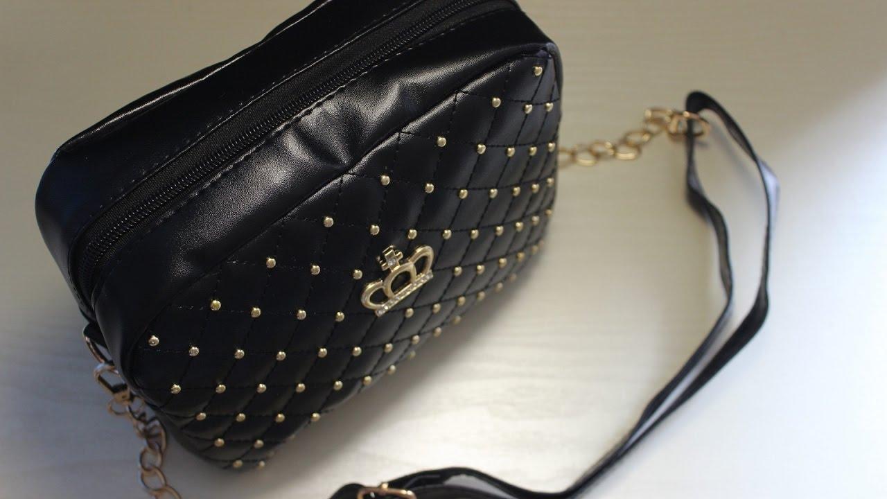 Молодежная женская сумка через плечо TRAUM купить в Украине. Обзор .