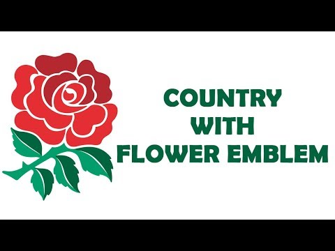 Country With Flower Emblem