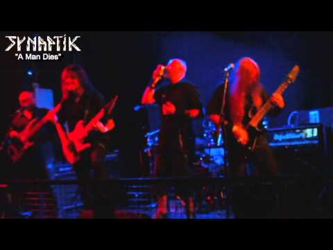 "SYNAPTIK ""A MAN DIES"" Live @ The Waterfront, Norwich UK, melodic progressive metal, death thrash"