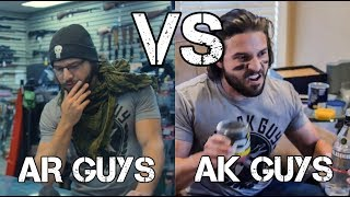 AR Guys VS AK Guys