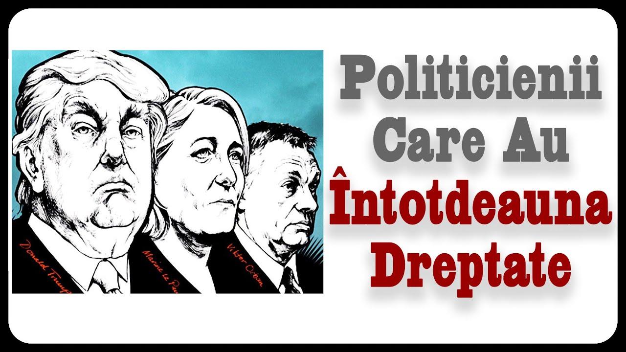Politicienii Care Au Întotdeauna Dreptate