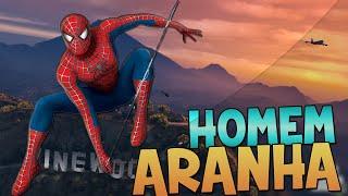 SUPER HOMEM ARANHA!! - GTA 5 mods