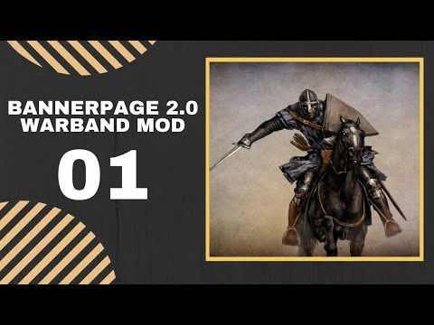 01 | NEW VERSION - BANDIT KING INTRO | Let's Play BANNERPAGE 2.0 Warband Mod Gameplay