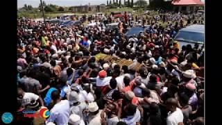 Majonzi na vilio vyatawala Tanga baada ya maelfu ya watu kujitokeza kumzika Marehemu King Majuto