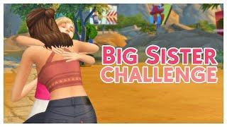 Sims 4 Big Sister Challenge #1 - Lotte & Eva (Nederlands)