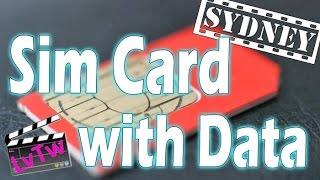 Getting a Pay as you Go Data Sim in Sydney