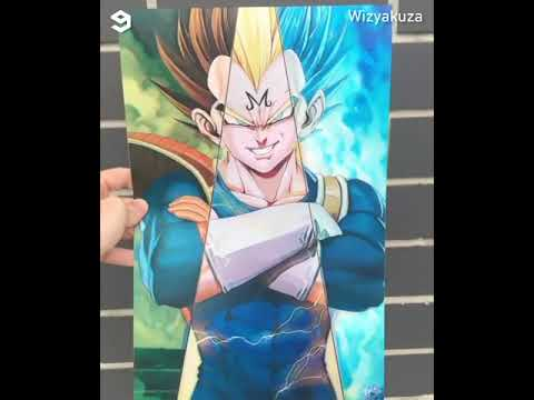 3d Lenticular Art Posters Wizyakuza Youtube