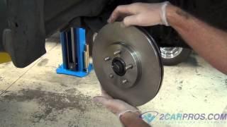 Front Brake Pads & Rotor Replacement Chrysler PT Cruiser