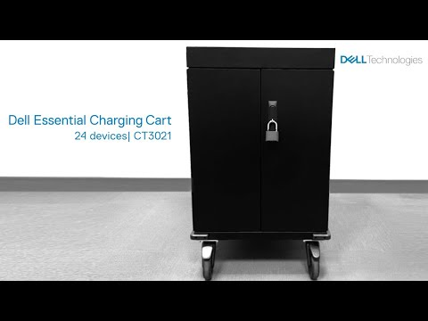 Bretford: Dell Essential Charging Cart | 24 Devices - CT3021