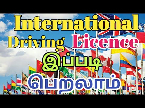 How to apply International driving licence  in Tamil  Tamil i