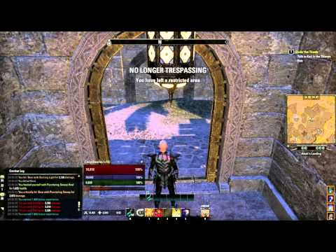 Abah's Landing Hidden Panel Guide - ESO Thieves Guild Hew's Bane