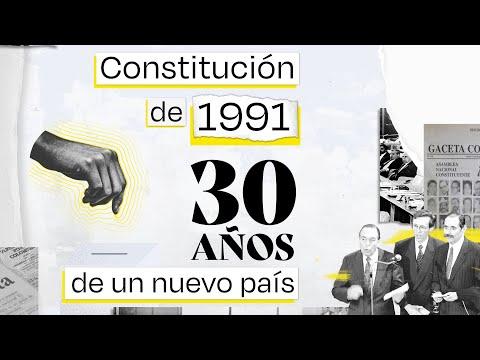 Constitución política de 1991: 30 años de un nuevo país - El Espectador